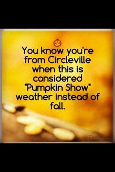Pumpkin Show Love.