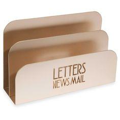 PARKER metal letter holder