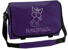 Diamante Sparkly Horse Head School Messenger Bag