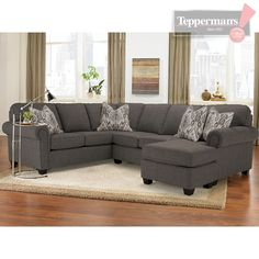 Andrews Sectional - Teppermanu0027s  sc 1 st  Pinterest : teppermans sectionals - Sectionals, Sofas & Couches