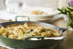 Forget Potato Gratin, Try Cauliflower Instead  I made this, it was SO good!!!
