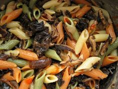 Mushroom Pasta    Like. repin, share! Thanks!