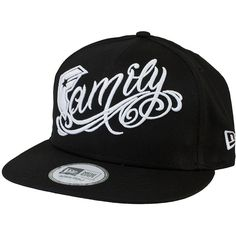 Cap FSAS Family black/white ★★★★★