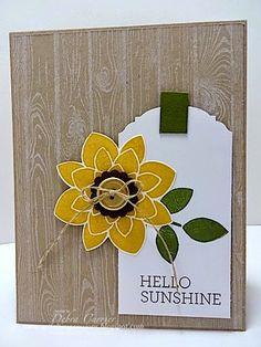 ARTfelt Impressions: Hello Sunshine Tag