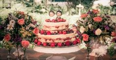 Naked cake: tendência para casamentos