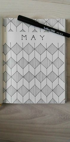 Facebook@BulletJournal-Nederland #may#maycoverpage#coverpage#