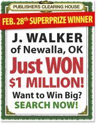 James Walker of Newalla, OK is one #Lucky PCH Winner (Smiles)