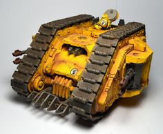 Imperial Fists Armoured Proteus