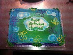 Spongebob Theme Cake