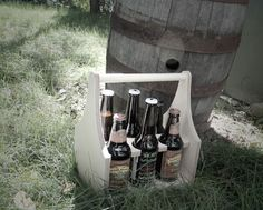 6-Pack Poker Chip beer caddy. http://sixnsticks.com/