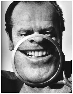 This is so perfectly him. Jack Nicholson by Herb Ritts