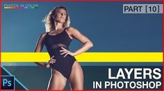 Photoshop Tutorial - Photoshop Layers and Layer Masks for beginners - YouTube