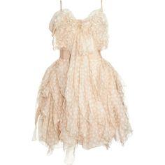 Nina Ricci Ruffled Cocktail Dress by Rachel's