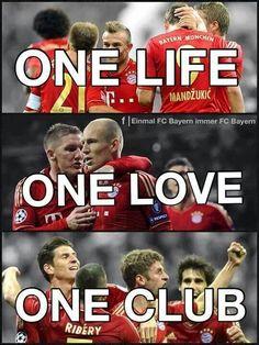 One love one club...
