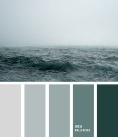 Sea fog and grey green ocean inspired color palette 19052212 - Idea Wallpapers , iPhone Wallpapers,Color Schemes Ocean Color Palette, Bedroom Colour Palette, Green Colour Palette, Ocean Colors, Bedroom Paint Colors, Teal Color Palettes, Grey Green Bedrooms, Bedroom Green, Living Room Color Schemes
