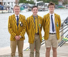 Men don chinos and stripey blazers on second day of Henley Royal Regatta | Mail Online