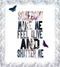 Lindsey Stirling ft. Lzzy Hale ~ Shatter Me   Lindsey Stirling Shatter Me Poster by LindseyStompFanArt
