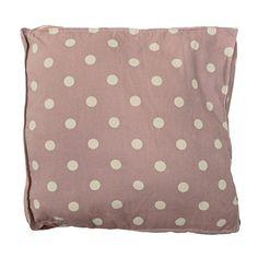 Ob auf dem Sofa, Bett oder Sessel – mit diesem wunderschönen Dekokissen mit Punkten von Bloomingville bringst Du Abwechslung in dein Zuhause.