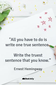 Writing Inspiration from top fiction and nonfiction authors Fiction And Nonfiction, Writing Quotes, Writing Inspiration, Wisdom Quotes, Sentences, Authors, Words, Top, Frases