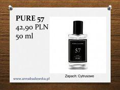 Perfumy PURE 57 męskie cytrusowe