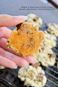 Tamed Musings: Kit-kat cookies {Recipe}