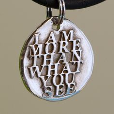 """Words Silver Jewelry"" by CharmsMaker on Etsy, $21.00 36"