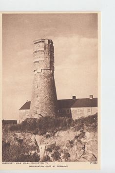 Vale Mill, German observation post during occupation, Guernsey, Channel Isles | eBay