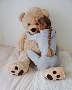 my big teddy bear. Teedy Bear, Big Bear, Bear Toy, Bear Girl, Bear Hugs, Huge Teddy Bears, Giant Teddy Bear, 2000s Party, Teddy Girl