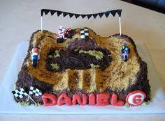 Custom Cakes by Julie: Motocross Cake