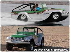 WaterCar Panther, the amphibious off-road vehicle  SHUT UP AND TAKE MY MONEY NOW!!!!