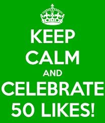 50 likes on my facebook page