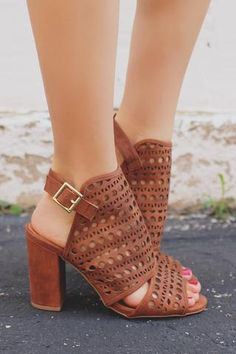 """Get beach ready with our Boardwalk Sandals! They are a pair of mini wedge, gladiator sandals with a lace up ankle cuff and a zipper back. Heel height: 0.5"""" (approx.) Available in: Natural & Tan. *All"""