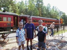 Paul, Noah, Luke and John at train station