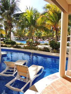 El Dorado Maroma Resort near Playa Del Carmen, Mexico - View from Patio of Swim-up Suite