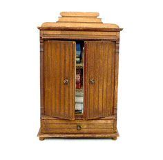 Vintage French miniature cupboard .Doll house. by CabArtVintage, $95.00
