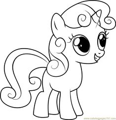 Find This Pin And More On Coloring Pages By Crystal Zborek See My Little Pony