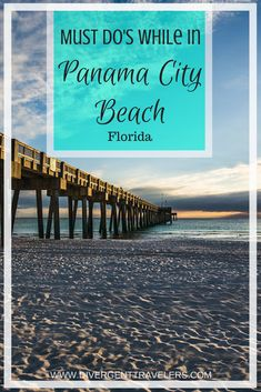 Must do's while in Panama City Beach Florida. Best Things To Do in Panama City Beach. #1. St. Andrews State Park. #1 inPanama City Beach. #2. Beaches Free. #2 in Panama City Beach. #3. Dolphin Tours. #3 in Panama City Beach. #4. Shell Island. #4 in Panama City Beach. #5. Conservation Park Free. #5 in Panama City Beach. #6. Shipwreck Island Waterpark. Click to read the full adventure travel blog post about Panama City Beach #Florida #FL #Vacation #PanamaCity #Beach #Guide #Travel
