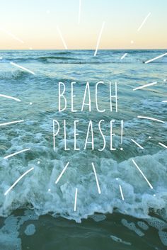 #Beach, please!
