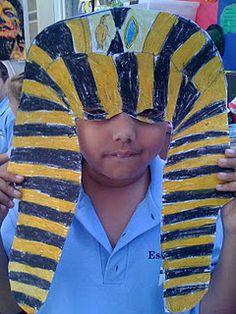 egyptian art for kids Ancient Egypt Lessons, Ancient Egypt Activities, Ancient Egypt For Kids, History Class, Art History, Egyptian Mask, 3rd Grade Art Lesson, Art Classroom, Classroom Ideas