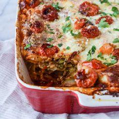 vegetable lasagna I howsweeteats.com-5
