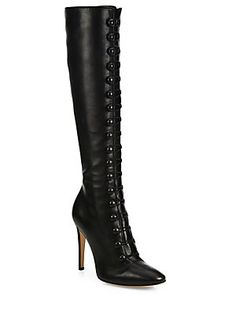 60317dac1a26 Gianvito Rossi - Imperia Leather Knee-High Boots