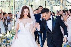 Taiwanese Actor Ken Chu Marries Chinese Actress Han Wenwen In A Beautiful And Starry Sky Themed Wedding At The Mulia Bali