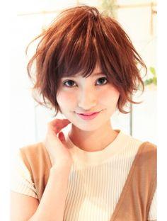 小顔ゆるふわカジュアルショート×タンバルモリ(妹尾祐紀)
