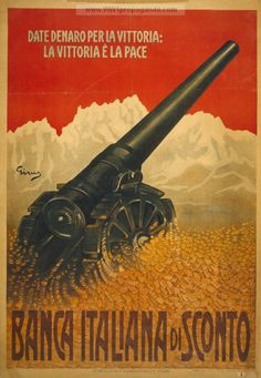 Examples of Propaganda from WW1 | Italian WW1 Propaganda Posters