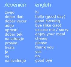 Slovenian, fun!