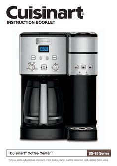 32 best coffeemaker manuals images on pinterest coffee machines rh pinterest com Keurig Coffee Maker Directions Keurig Coffee Maker Replacement Parts
