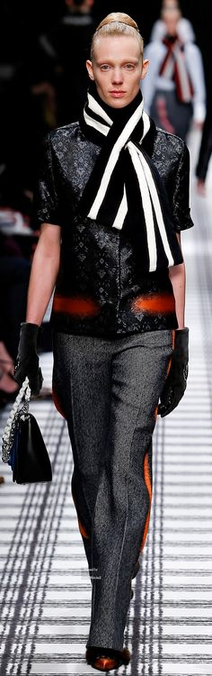 Balenciaga Collections Fall Winter 2015-16 collection - love the red!