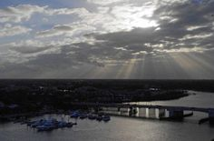 You must climb the lighthouse and check out the sunset views at Jupiter Inlet  @visitflorida