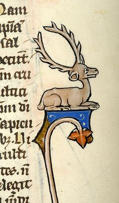 Deer | Bible | Northeastern France | during last quarter of the 13th century | The Morgan Library & Museum