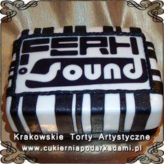 033. Tort dla DJ'a. Cake for DJ.